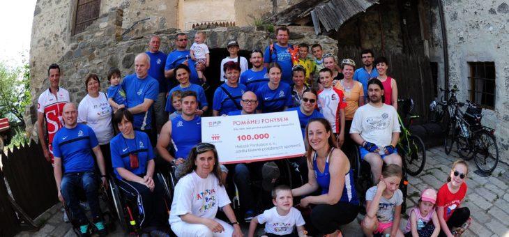Nadace ČEZ přispěla atletům 100.000 Kč