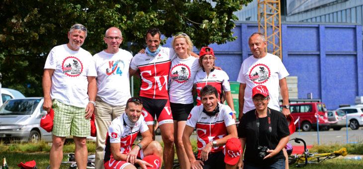Jsme v cíli handy cyklo maratonu 2016