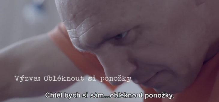 To dáááš!!! – Libor Bohdanecký tváří kampaňe České asociace paraplegiků
