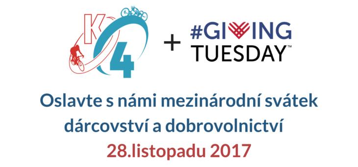 Staňte se dárcem s #GivingTuesday i vy!