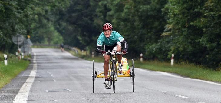 Připravuji se zodpovědně, máme s tátou najeto 2000 km, říká handicapovaný Roman Šejna