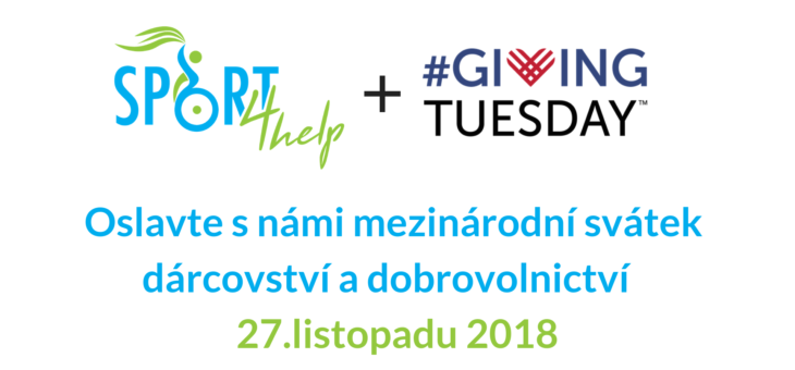 Zapojte se do Giving Tuesday 2018