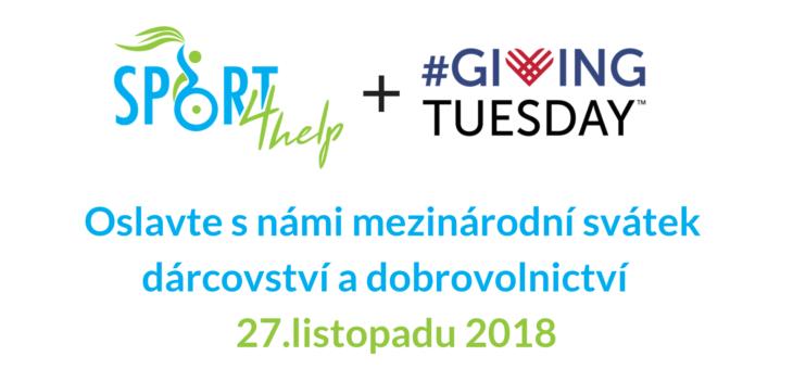 Zapojte se do Giving Tuesday 2018