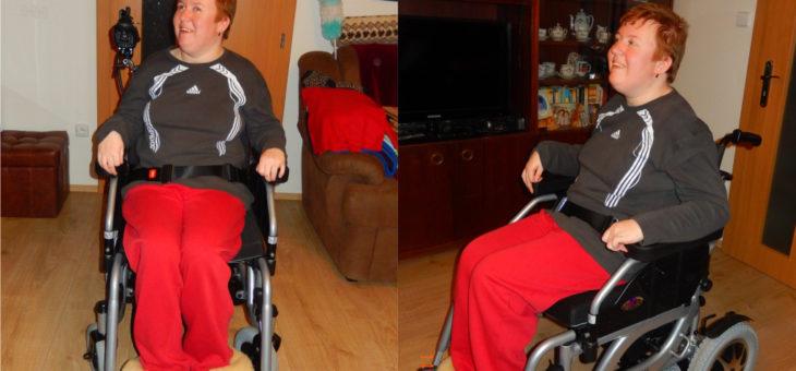 Pavlínka má nový vozík