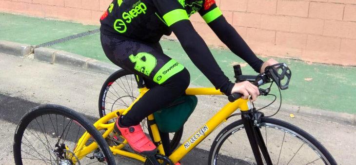 Romča má nový tricykl!