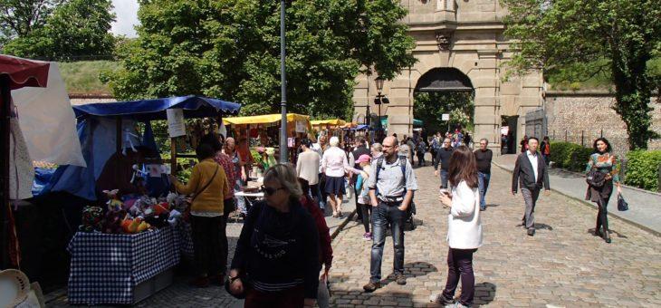 Trhy chráněných dílen na Vyšehradě 18.5.2019