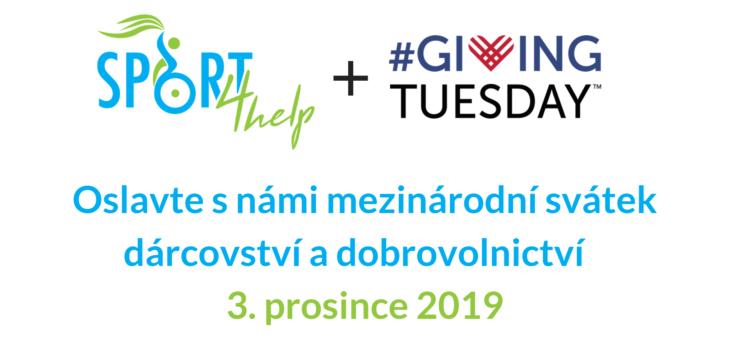 Největší svátek dárcovství, Giving Tuesday, je opět tady!