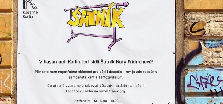Šatník Nory Fridrichové pro rodiny samoživitelů